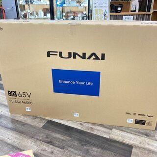 フナイ 65インチ液晶テレビ FL-65UA6000 2017年...