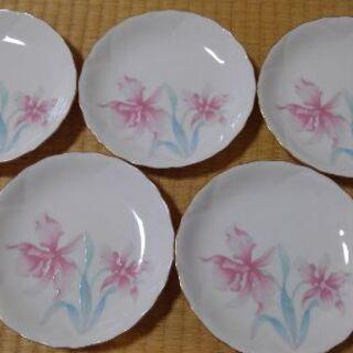 🌕🔴🔘花柄がかわいい🔴🌕🔘小皿♥️香蘭社