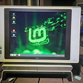 無償 一体型デスクトップ FUJITSU LX55