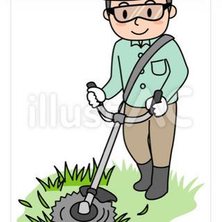 草刈り、敷地清掃のお手伝い