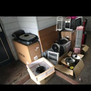 生活雑貨 灯油ストーブ 扇風機  電子レンジ 即購入不可です。 - 売ります・あげます