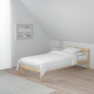 ほぼ新品 未使用シングルベッド&コイルマットレス