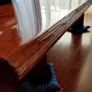 高級和卓  天然木 1枚板 和テーブル  座卓  和室