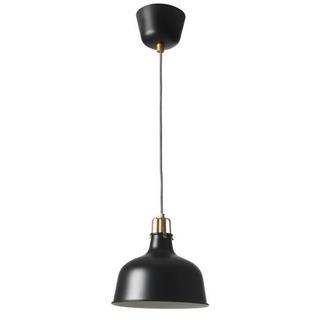 IKEA 天井照明 ペンダントランプ リモコン付き 23cm