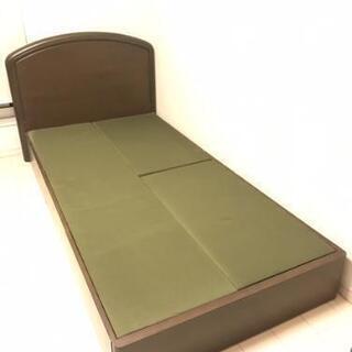 【ネット決済】収納付きシングルベッド