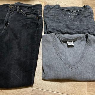 服セット ズボン2本 長袖2枚