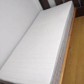 シングル ベッドフレーム・マットレス