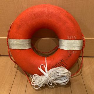【ネット決済・配送可】🌟小型船舶 船舶検査 救命浮環 中古🌟