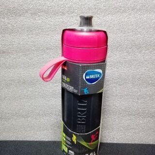 【新品】浄水器機能付き水筒 600ml ブリタ フィル&ゴー ピンク