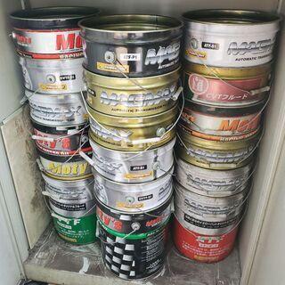 現状販売【中古】5缶セット フタ無し ペール缶 ガラやくず入れ、...