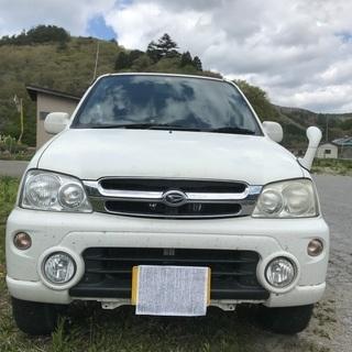 テリオスキッド 白 センターデフロック付フルタイム4WD 4AT...