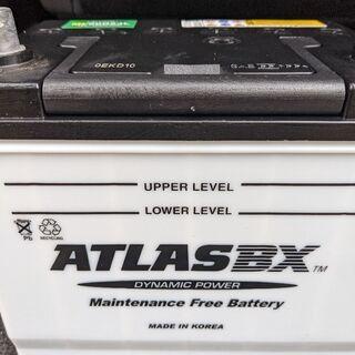 車 アトラス ATLASBX バッテリー MF 90D23…
