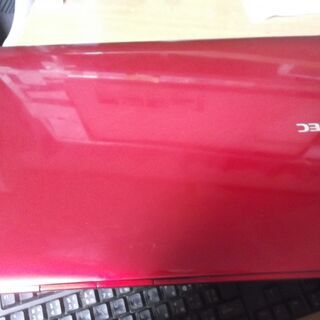 NEC赤ノート バッテリー残が6時間以上表示 新品SSD120GB搭載