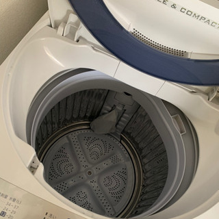 SHARP ES-GE55R-H 洗濯機