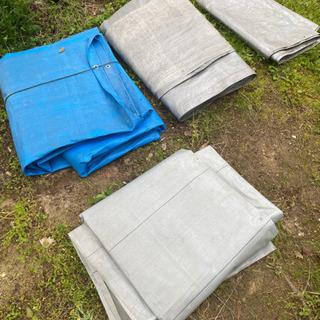 農業資材 処分 ブルーシート類 4枚