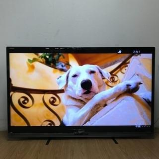 ③即日受渡❣️3Dクアトロン大画面、省エネAQUOS60型テレビ...