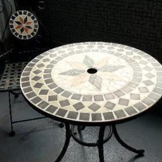 ガーデンテーブルチェアーセット