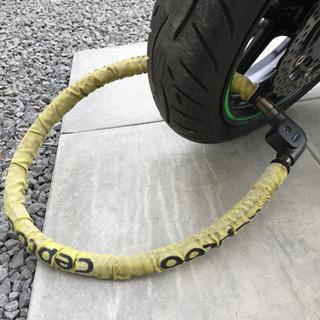 ★決まりました★バイクロック 1200mm 二輪車 セキュリティ