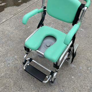 車椅子型トイレ 介護用品 トイレ 移動式