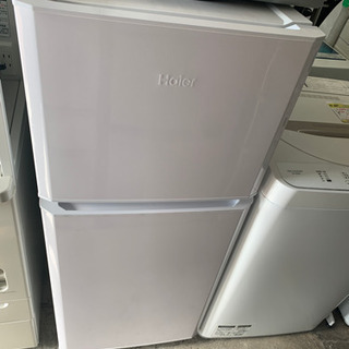 【美品 ハイアール】2ドア 冷凍冷蔵庫 121L JR-N121...