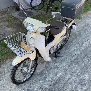 ホンダHONDAスーパーカブ110 JA10 バイクカバー付 バ...
