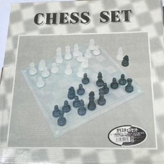 チェスセット ガラス製