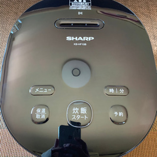 SHARP 炊飯器 2020年製 説明書付き
