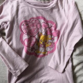 110女の子長袖シャツ