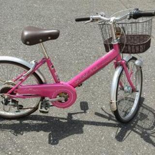 20インチ 子供用自転車 ピンク