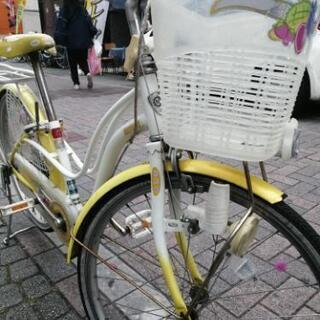 可愛い 子供自転車 22インチ