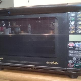 インバータ式・クリアガラス・オーブンレンジ 800W