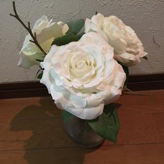 高島屋6階の造花店で購入した造花