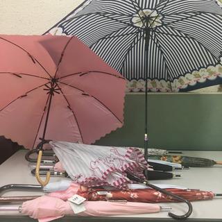 未使用 折りたたみ傘 晴雨兼用 雨傘 レディース 女性用傘 日傘...