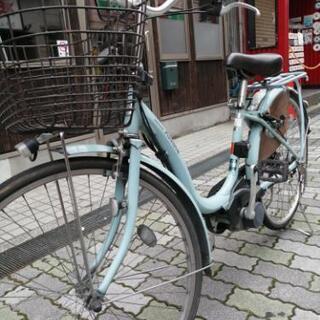 ブリヂストン電動自転車 26インチ ブルー
