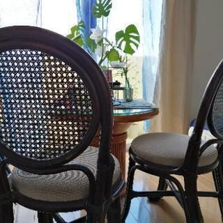 【ネット決済】椅子 又はイスとテーブルのセット アジアン ナチュラル