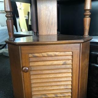 コーナー家具 木製 アンティーク