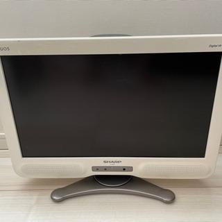 液晶テレビ AQUOS SHARP 20インチ