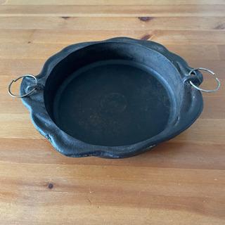 レトロな鉄鍋 すき焼き鍋 アンティーク 古道具 骨董