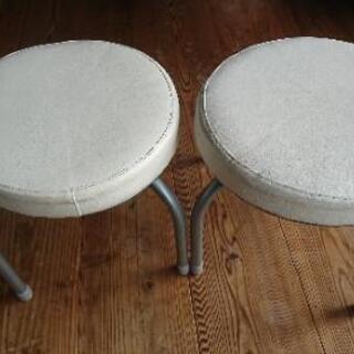 [配達無料][即日配達も可能?]ニトリ 小さな椅子 2個セット