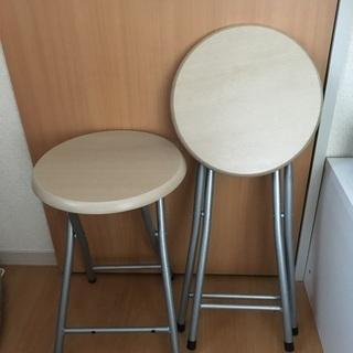 丸椅子2つセット※他の有料出品などセット割引の相談可