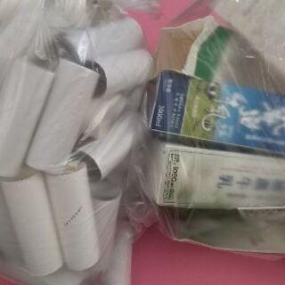 トイレットペーパー芯と牛乳パック