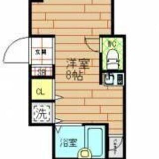 初期費用、17,000円のみ 保証人なし可能!!即入居可能!!