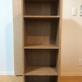 4段 木製収納棚