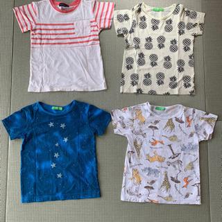 120㎝ Tシャツ4枚セット
