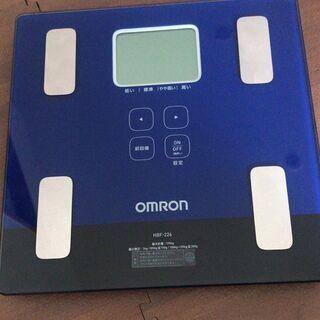【美品】OMRON オムロン デジタル体重体組成計 HBF-22...