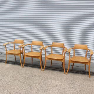 T031)★期間限定出品★売り切り★ノーブランド 木製椅子  チ...