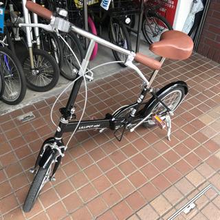 16インチ 折り畳み自転車 ブラック