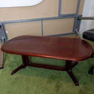 木製!ローテーブル ブラウン