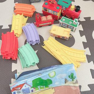 アンパンマンタウン SLマンと虹のレールウェイセット