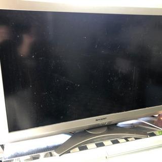 SHARP AQUOS 液晶カラーTV 差し上げます。